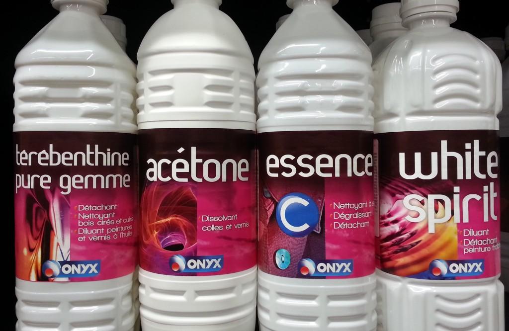 Les essences et les solvants lemoulage for Utilisation du white spirit